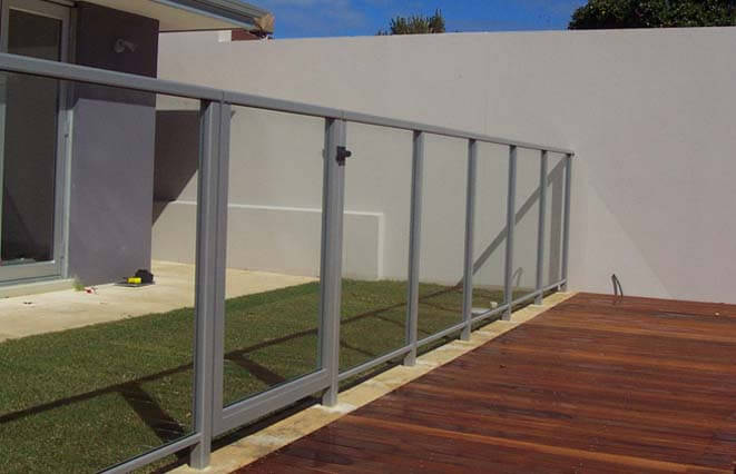 Framed Glass Pool Fencing Modern Home