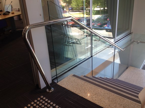 Perth Company Stainless Steel Commercial Handrail