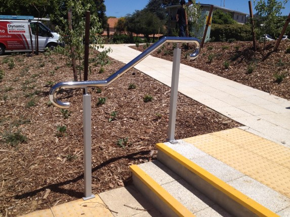 Perth Stainless Steel Commercial Handrail