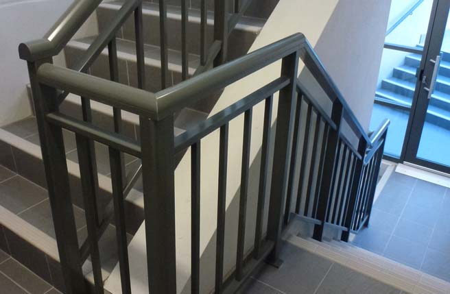 Perth Commercial Development Balustrades